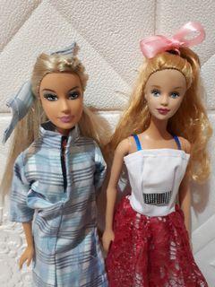 Barbie mattel vintage take all