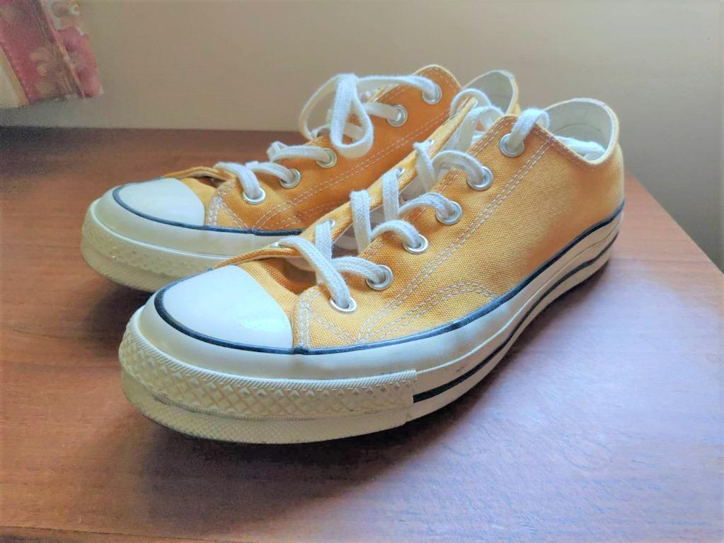 Converse Chuck Taylor All Star 1970 黃  帆布鞋  26.5cm