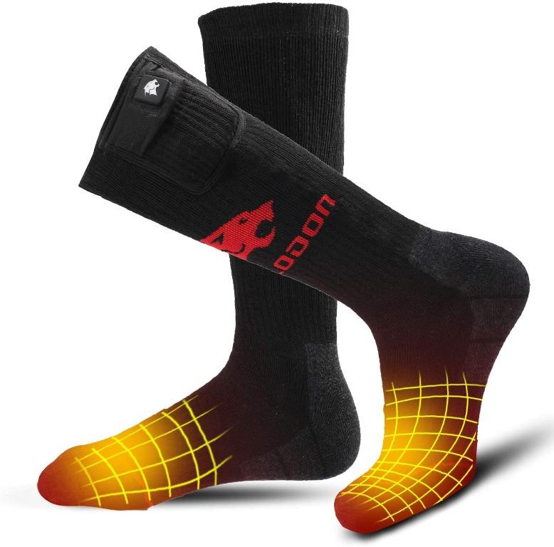 Electric Heating Rechargeable Battery Powered Socks Thermal Socks