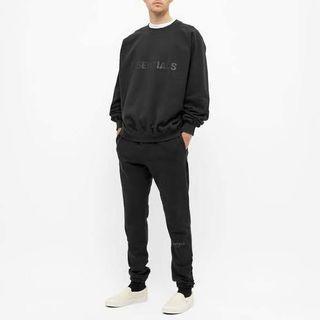 ON HAND Fear of God Essentials Sweatshirt (Black)
