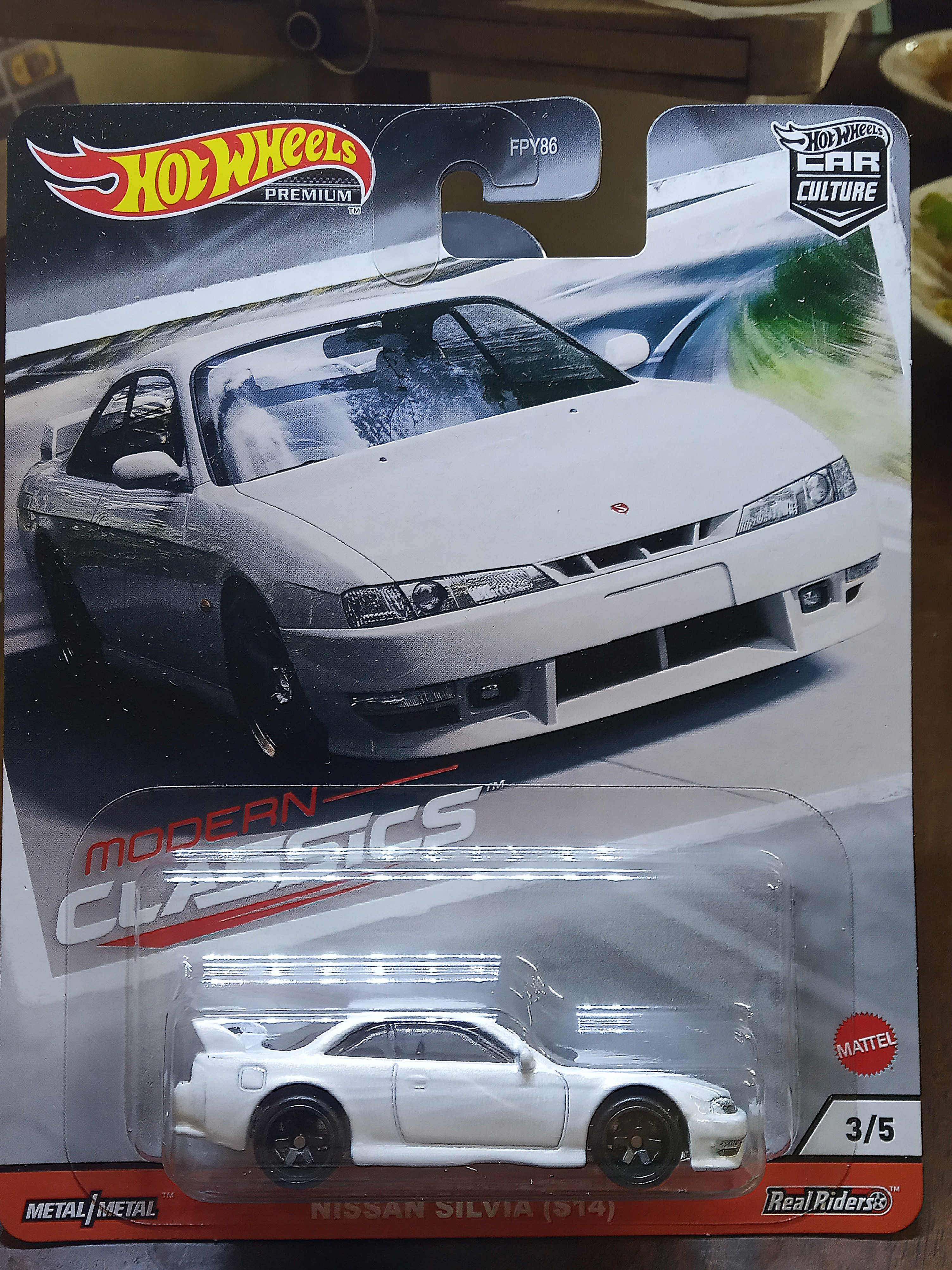 Hot Wheels 2020 Modern Classics 3 5 Nissan Silvia S14 White Toys Games Diecast Toy Vehicles On Carousell