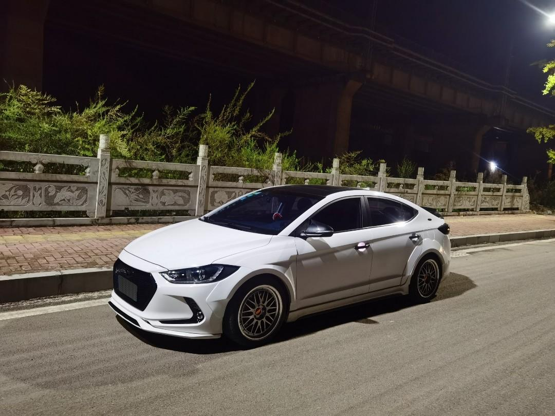 Hyundai Elantra Ad Wide Body Kit New Design Car Accessories Accessories On Carousell