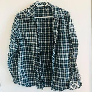 large plaid shirt/cardigan