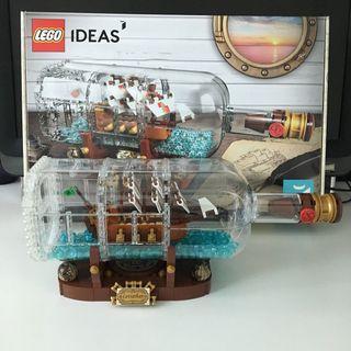 Lego 21313 瓶中船 (已砌) Ship in a Bottle