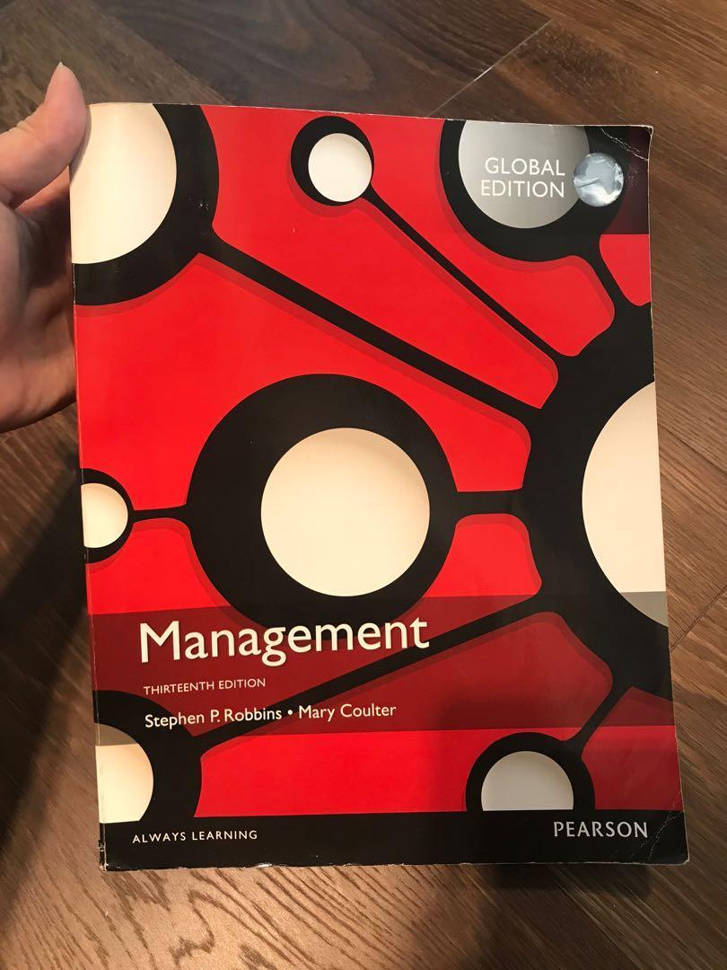近全新Management 管理學課本 Global Edition 13版 企業管理原文書 二手 PEARSON 培生