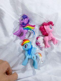 My little pony, the tail can change colour