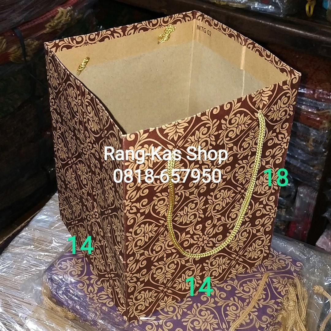 Paperbag Nastar Batik kraft samson
