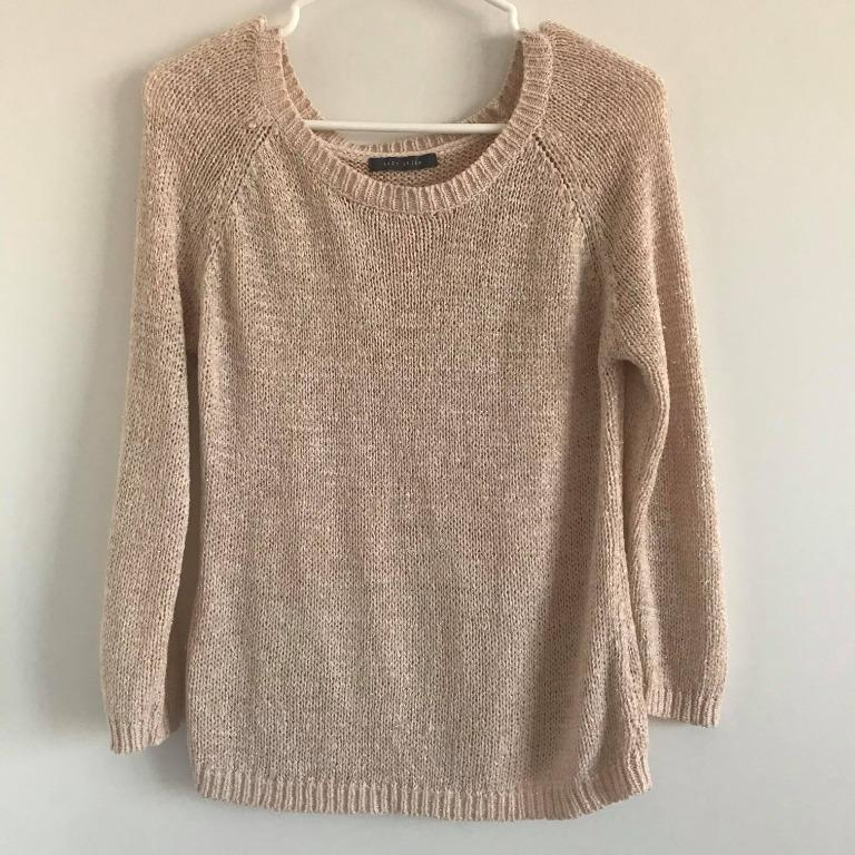 Pink/nude sweater