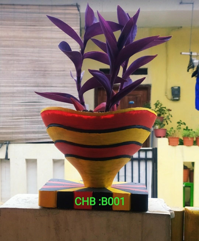 Kombinasi Warna Cat Pot Bunga