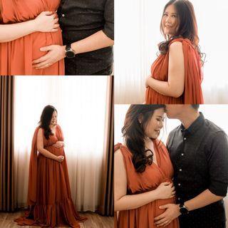 Prewedding and maternity dress
