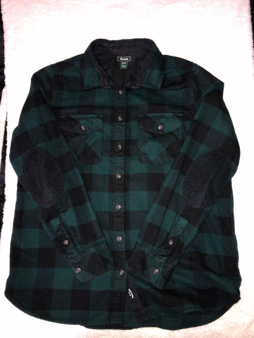 ROOTS mahone shirt