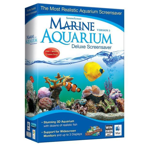 SereneScreen Marine Aquarium - Aplikasi Pembuat Wallpaper Animasi Bergerak Bertema Lautan