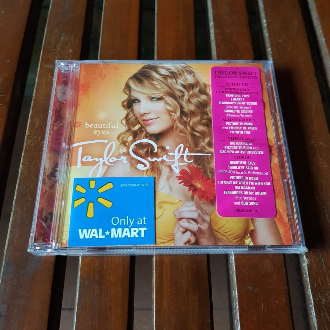 Taylor Swift Beautiful Eyes Cd Dvd Music Media Cd S Dvd S Other Media On Carousell