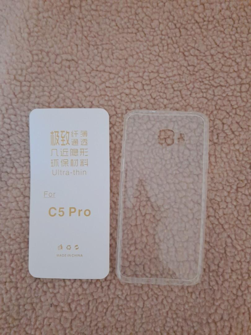 Transparent phone case fro C5 pro (samsung)