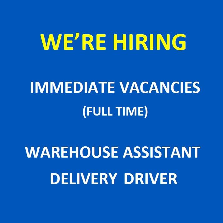 Warehouse Asst / Delivery Driver @ Tampines (FT, Perm)