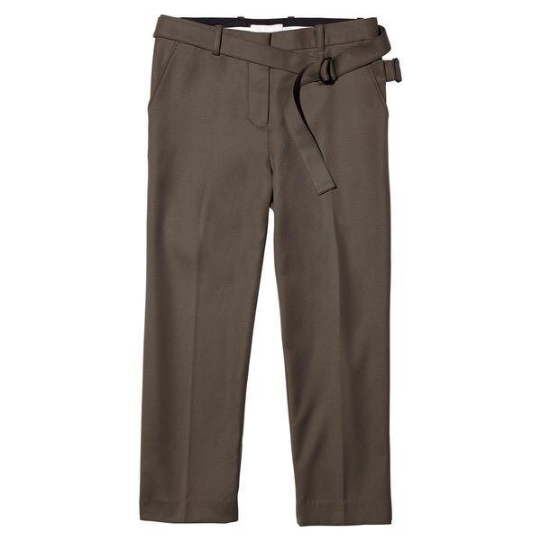 3.1 Phillip Lim Slim Cropped Pant with Utility Strap