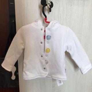 新生兒冬裝~土耳其製造棉含帽厚外套,嬰兒寶寶換季