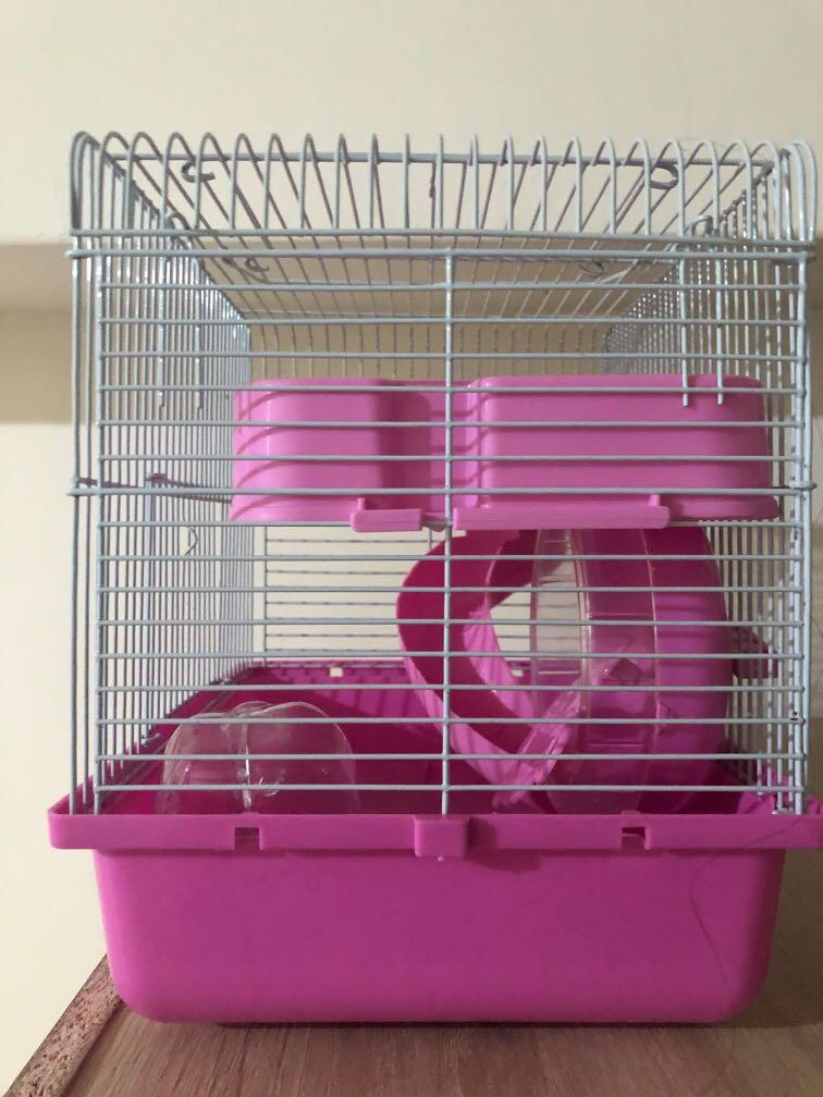 倉鼠籠(含水壺)