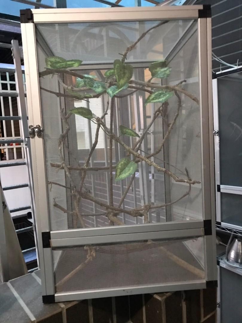 爬蟲類飼養籠子-大