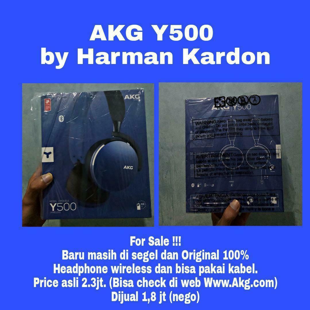 AKG Y500 by Harman Kardon
