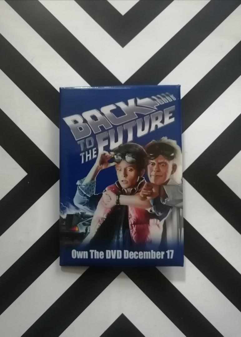 Back To The Future Promo Pin