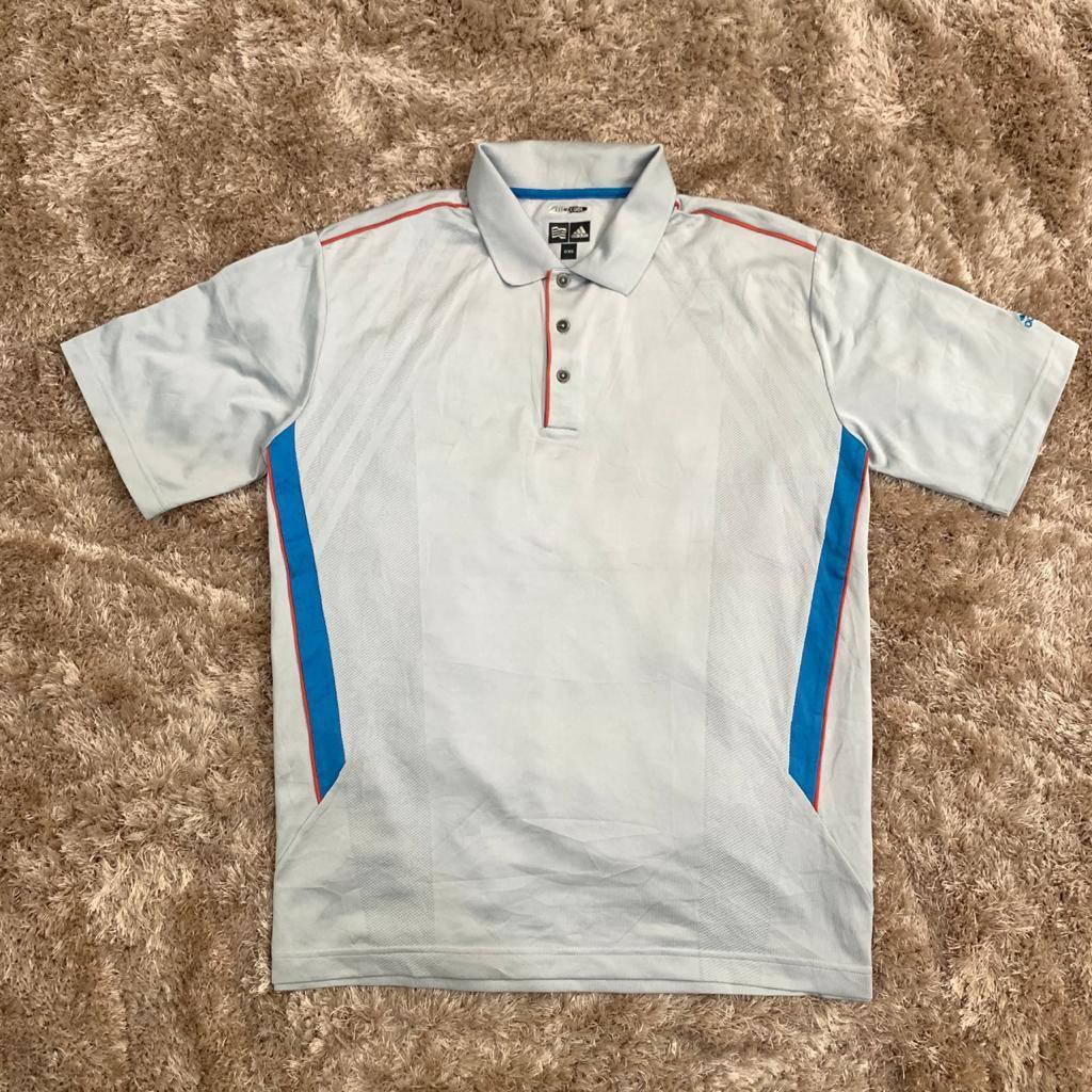 baju jersey polo shirt olahraga tenis badminton golf adidas original