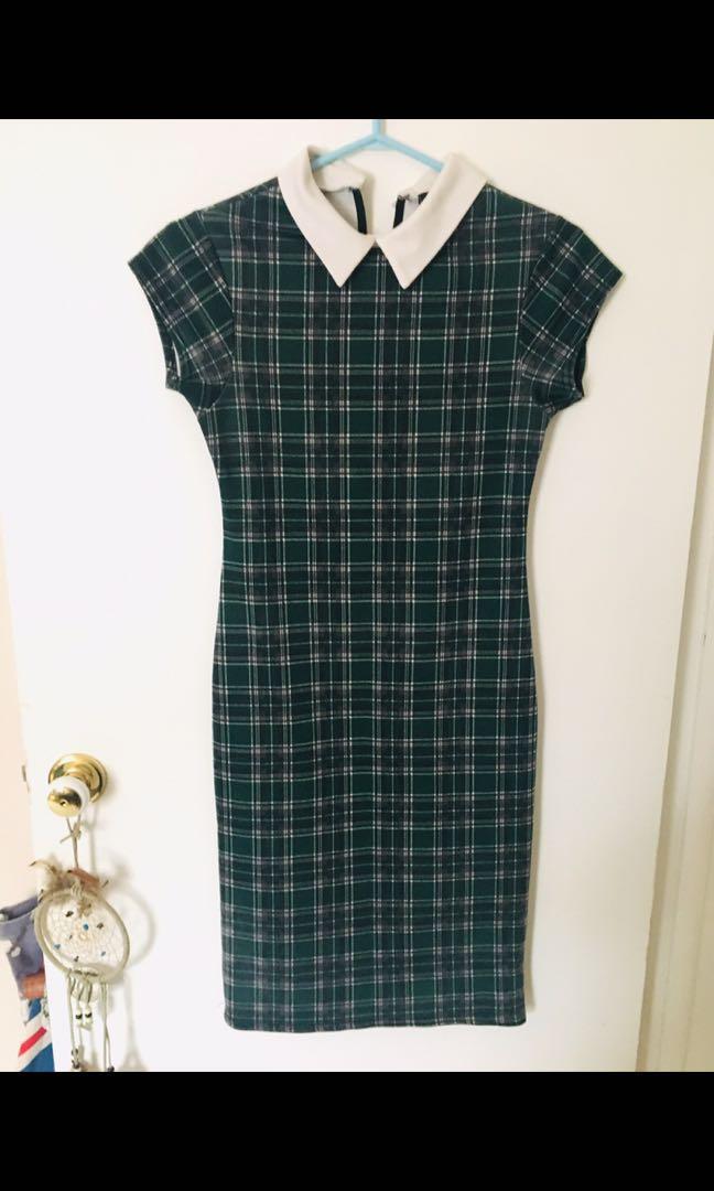 Beautiful vintage plaid dress