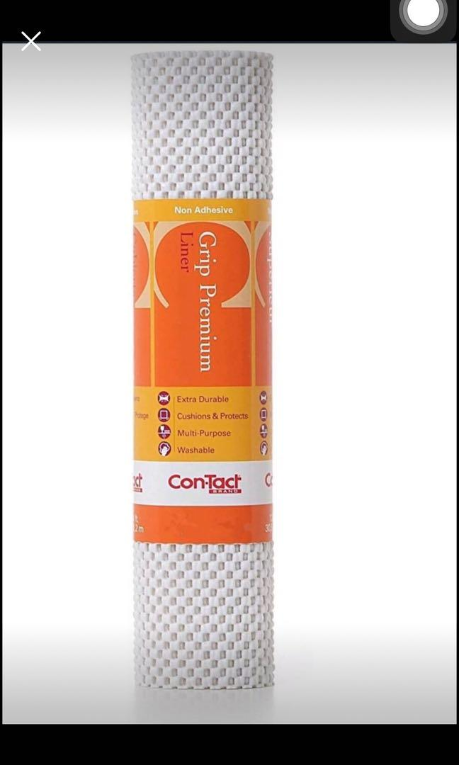 Brand new Con-Tact Brand Grip Premium Non-Adhesive Shelf Liner (12inch*12ft)
