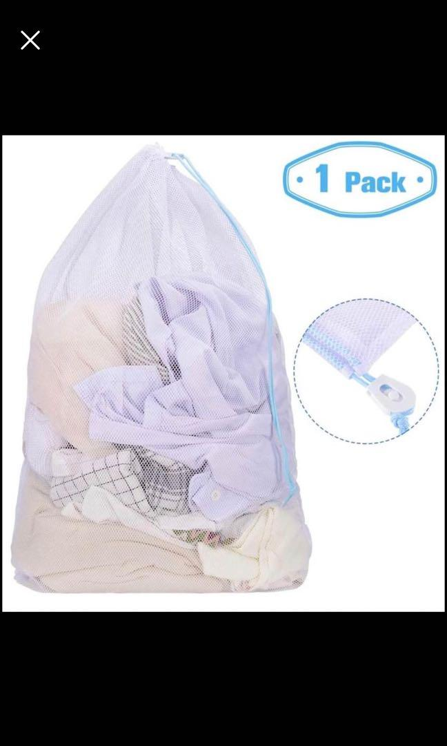 Brand new Large mesh Laundry Bags for Delicates,24 * 36inch Durable  Washing Bag