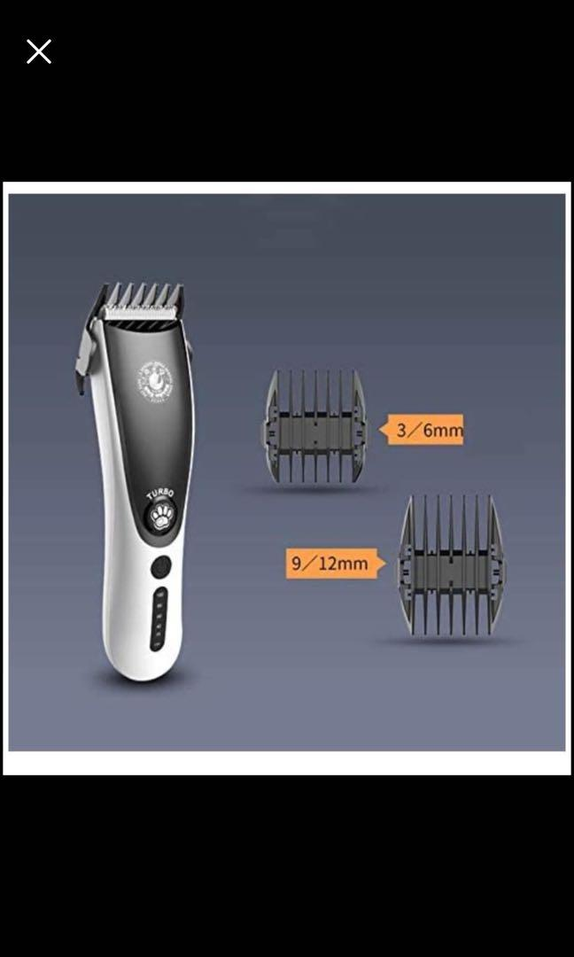 Brand new Rechargeable Dog Trimmer Wireless pet Groomer Trimmer kit Low Noise cat Hair Shaver