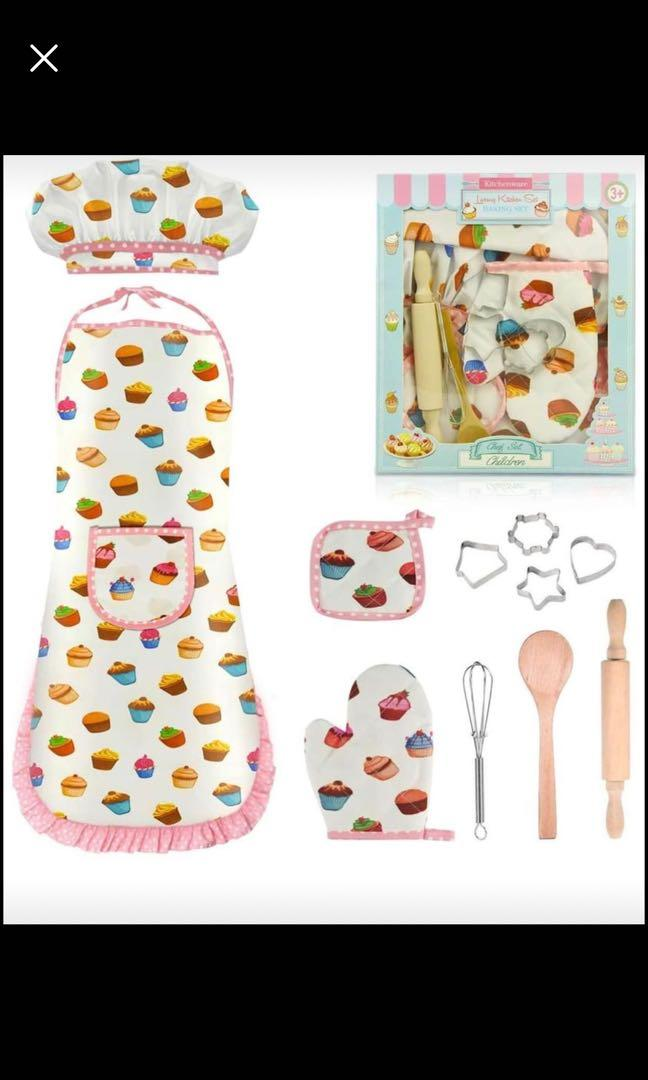 Brand new Toys for  Age 2-8,Kids Pretend Play Cooking Set 2-8 Year Old