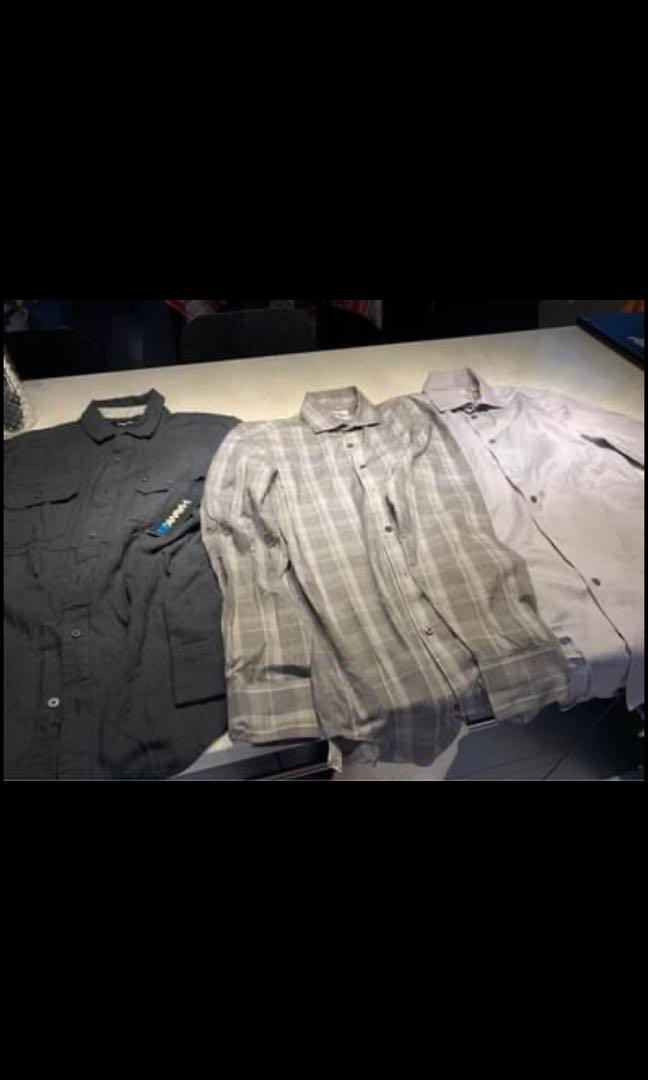 Calvin Klein and tony hawk shirts