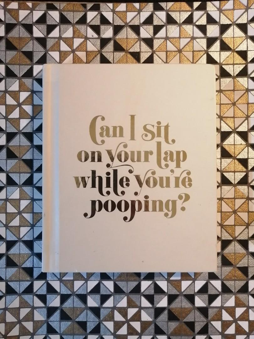 Can I Sit On Your Lap.....Book
