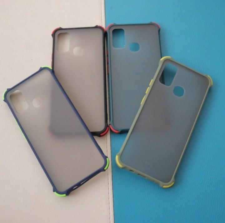 Case silikon Frosted hardcase Fuze infinix Hot 9 play