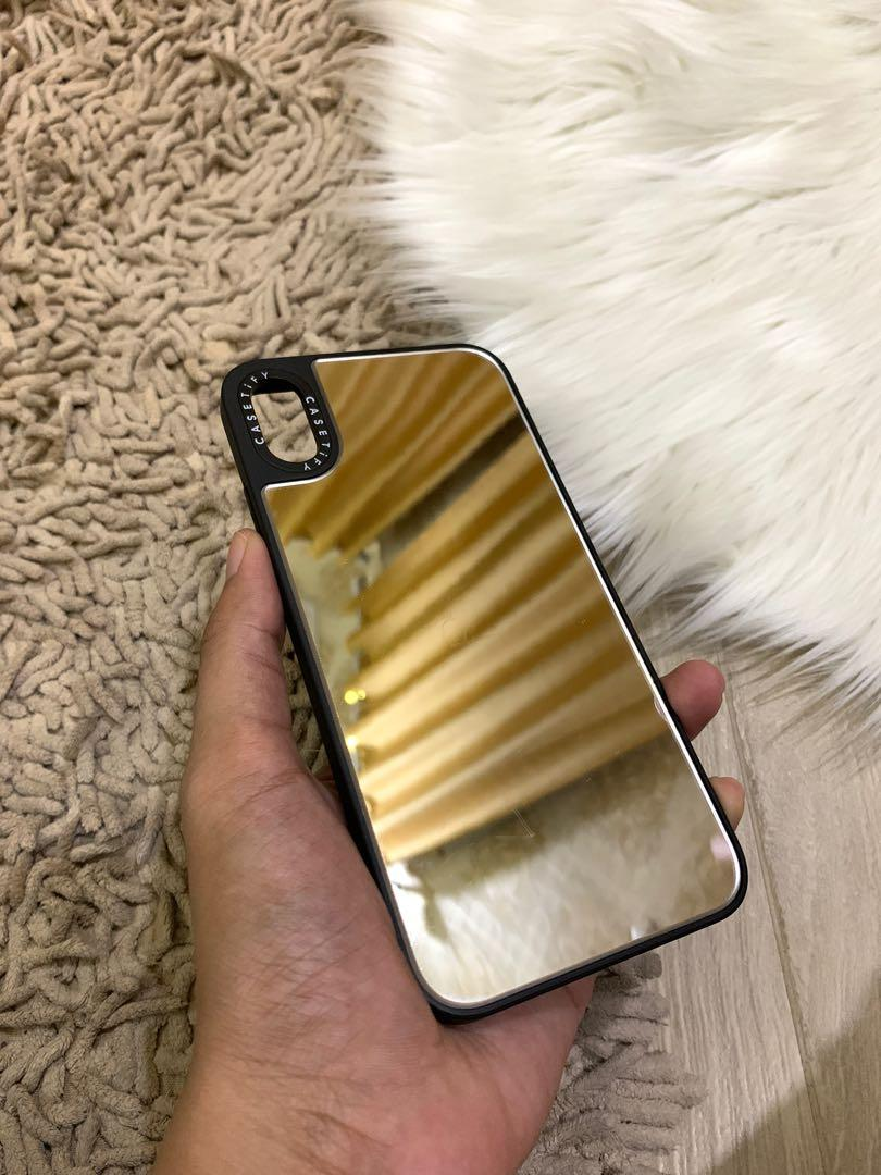 Casetify mirror iphone xs max