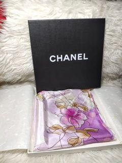 Chanel Scarf Authentic 100%silk