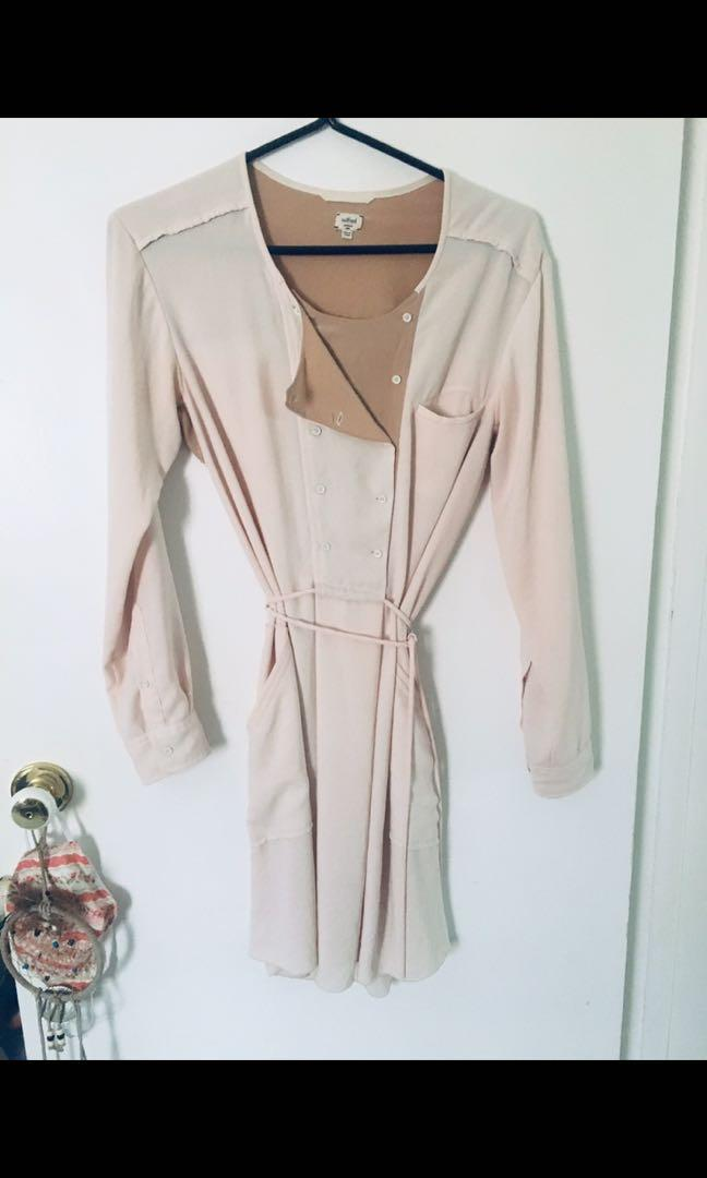 Euc wilfred 100% silk dress