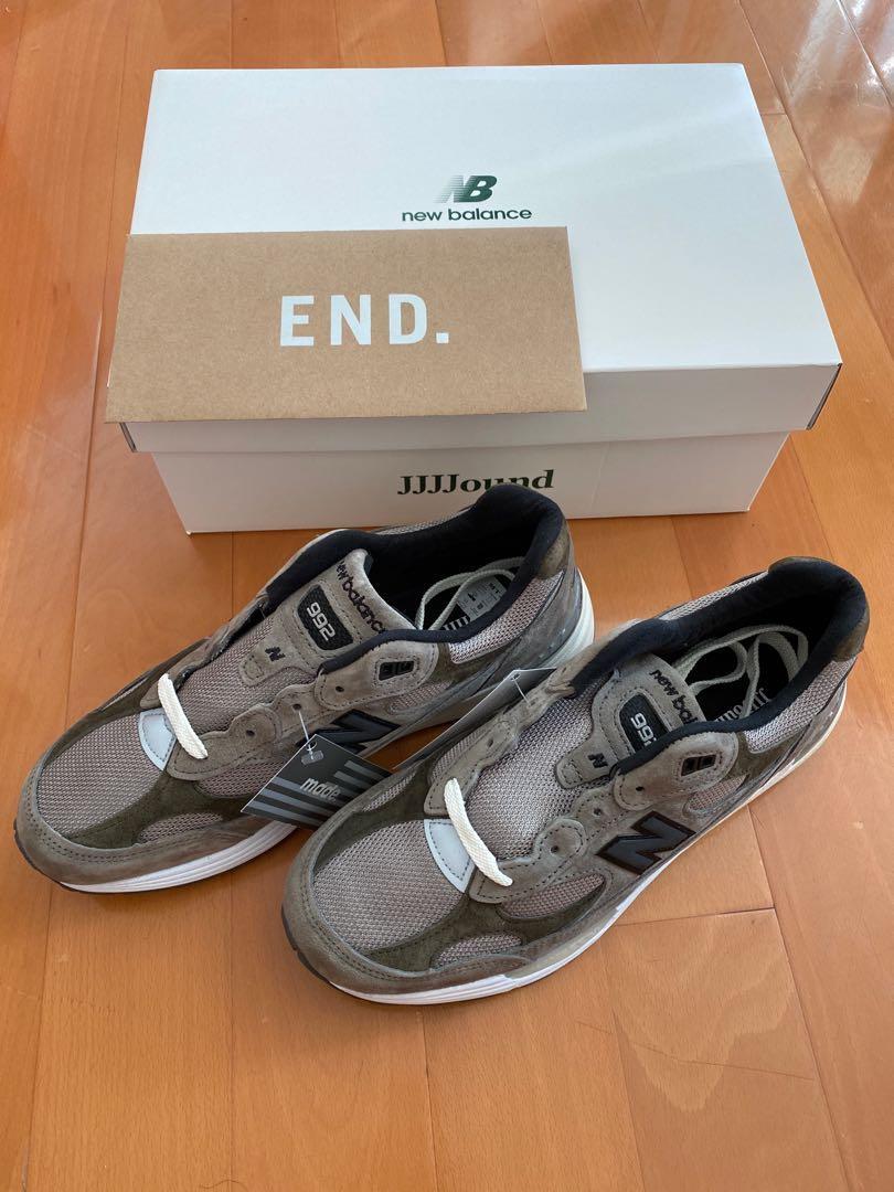 JJJJound new balance 992, 男裝, 男裝鞋