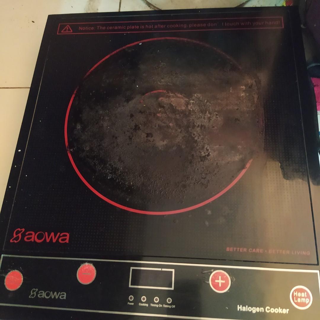 kompor aowa aw-45ic halogen cooker