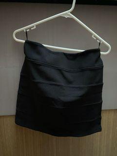 Forever 21 XXI Black Mini Skirt