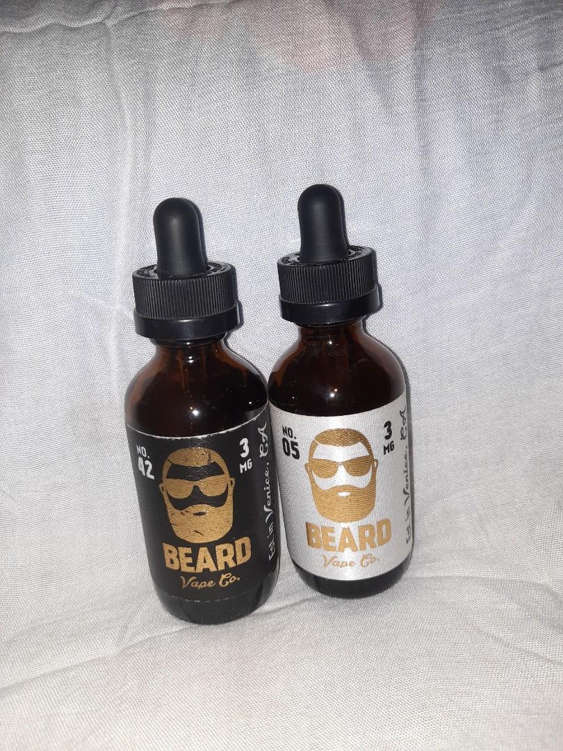 Liquid Vape BEARD Vape co. (No. 05 & No. 42)