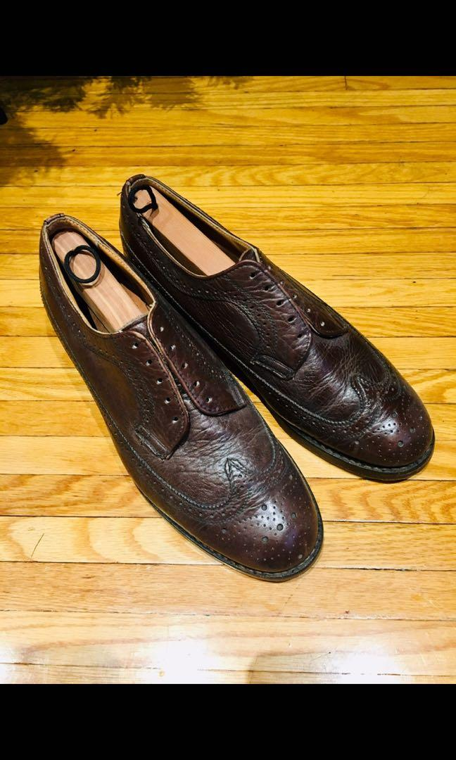 Mens leather dress shoes brogues