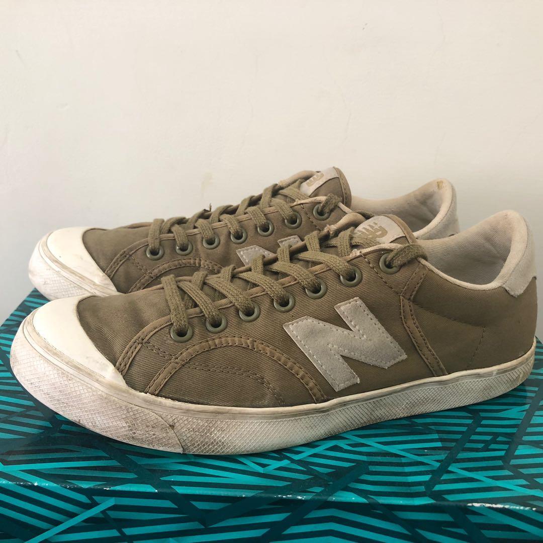 New balance 板鞋 軍綠