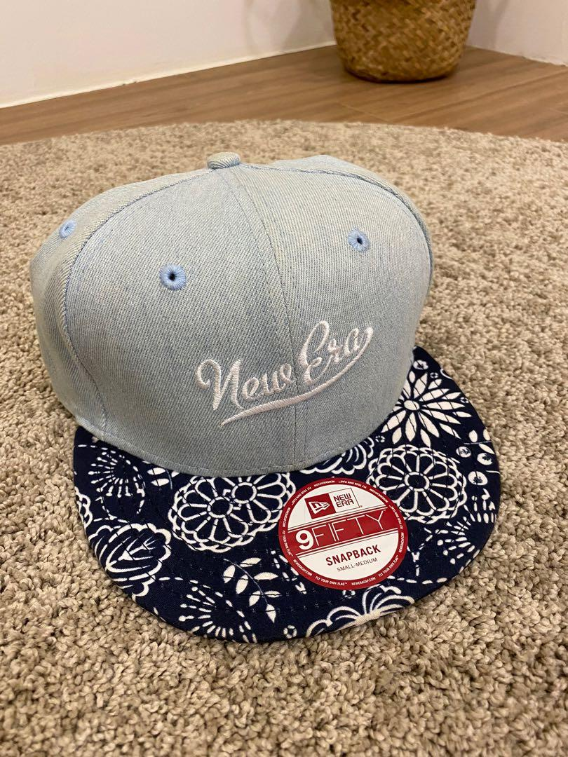 New Era Asia Pacific Design Snapback Denim牛仔帽