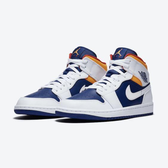 Nike Air Jordan 1 Mid Royal Blue Laser