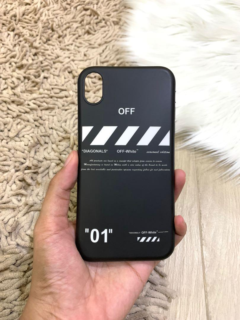 Off white iphone xr
