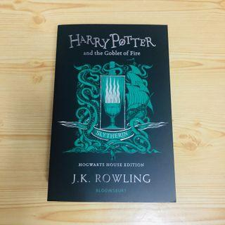 ONHAND Harry Potter and the Goblet of Fire Slytherin Ed
