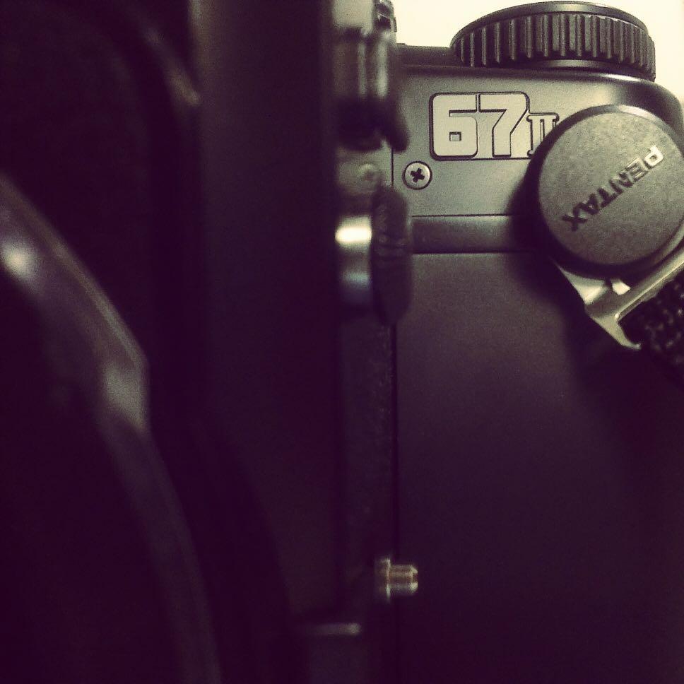PENTAX 67 II + 105mm f2.4原廠定焦鏡(極新)