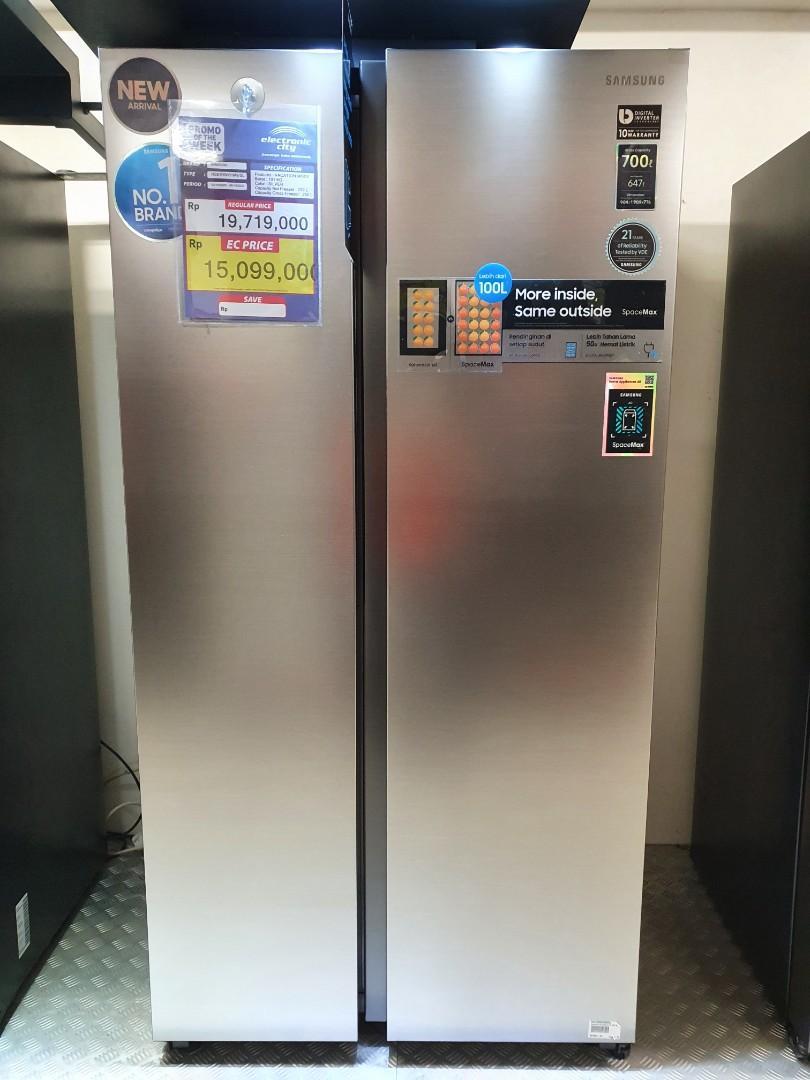 Promo Bunga Bisa 0% Side By Side Samsung 2 Door RS61R5001M9