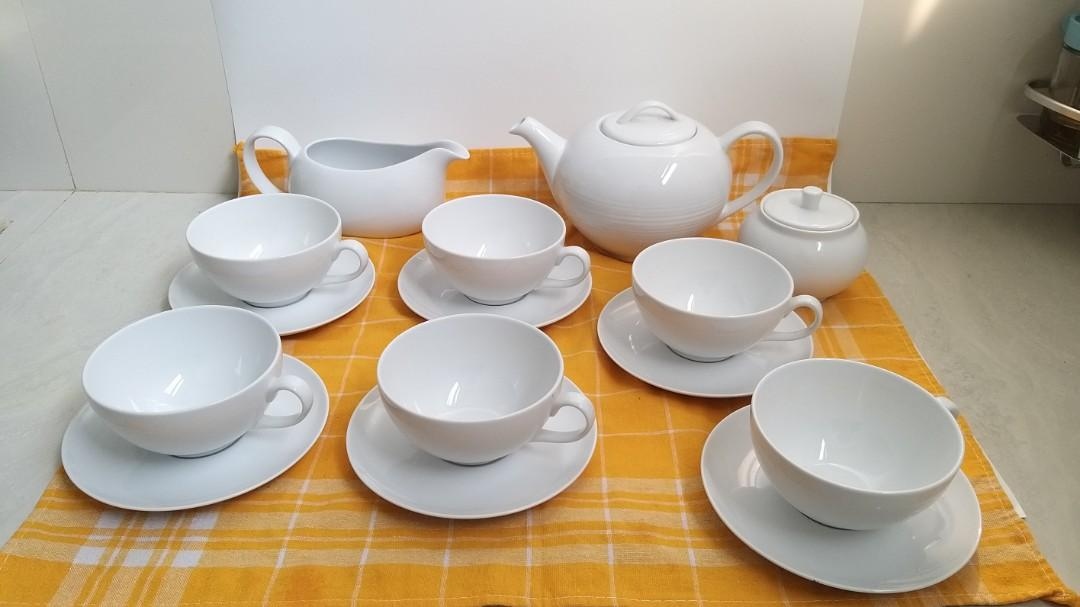 Tea Set/15 Items ( Uk Cups Besar)